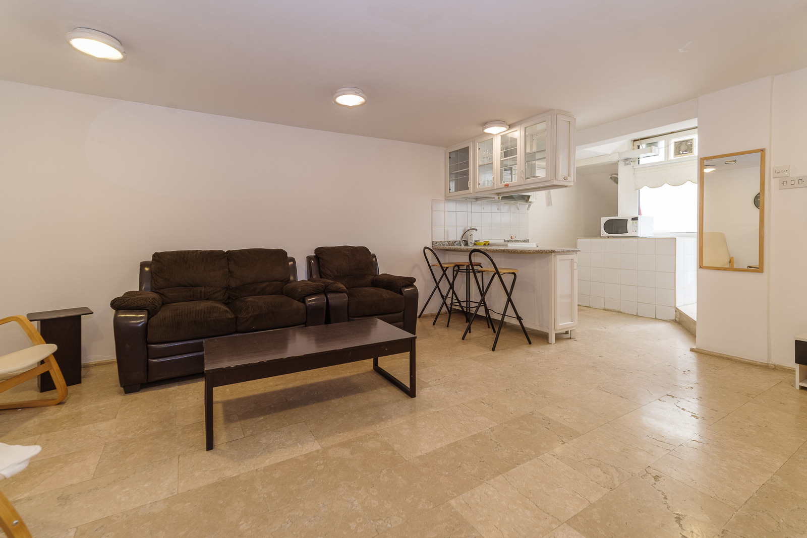 salwa  partially furnished one bedroom basement
