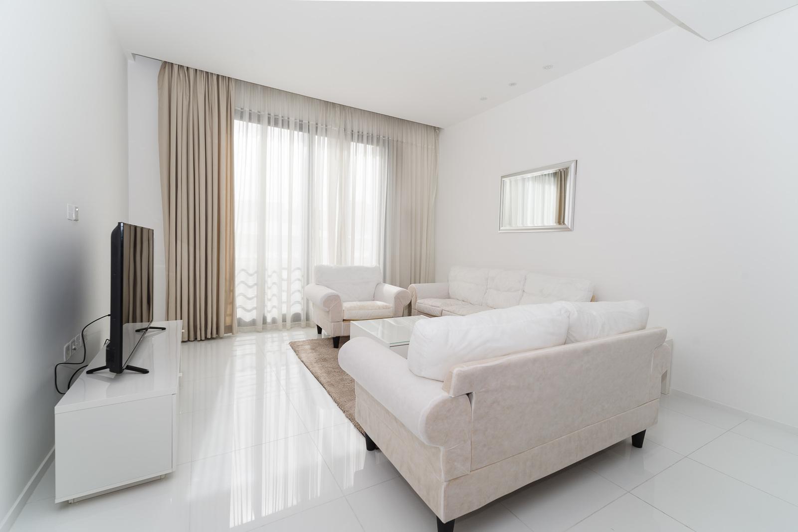 Sadiq – furnished, three bedroom apartments