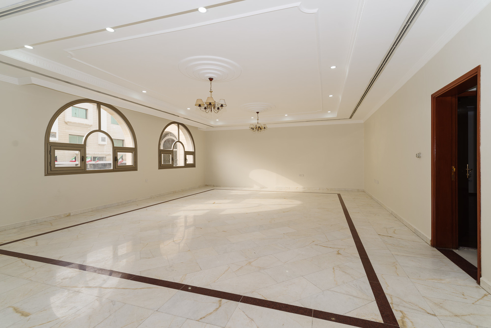 Jabriya – spacious, unfurnished, four floors corner villa