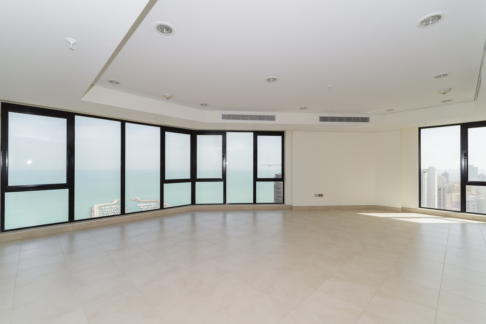 Bneid Al Gar – fantastic, unfurnished, three bedroom apartments w/panoramic city and sea views
