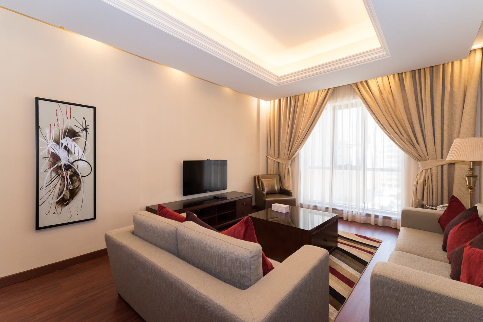 Jabriya – furnished, one bedroom apartment w/s. pool