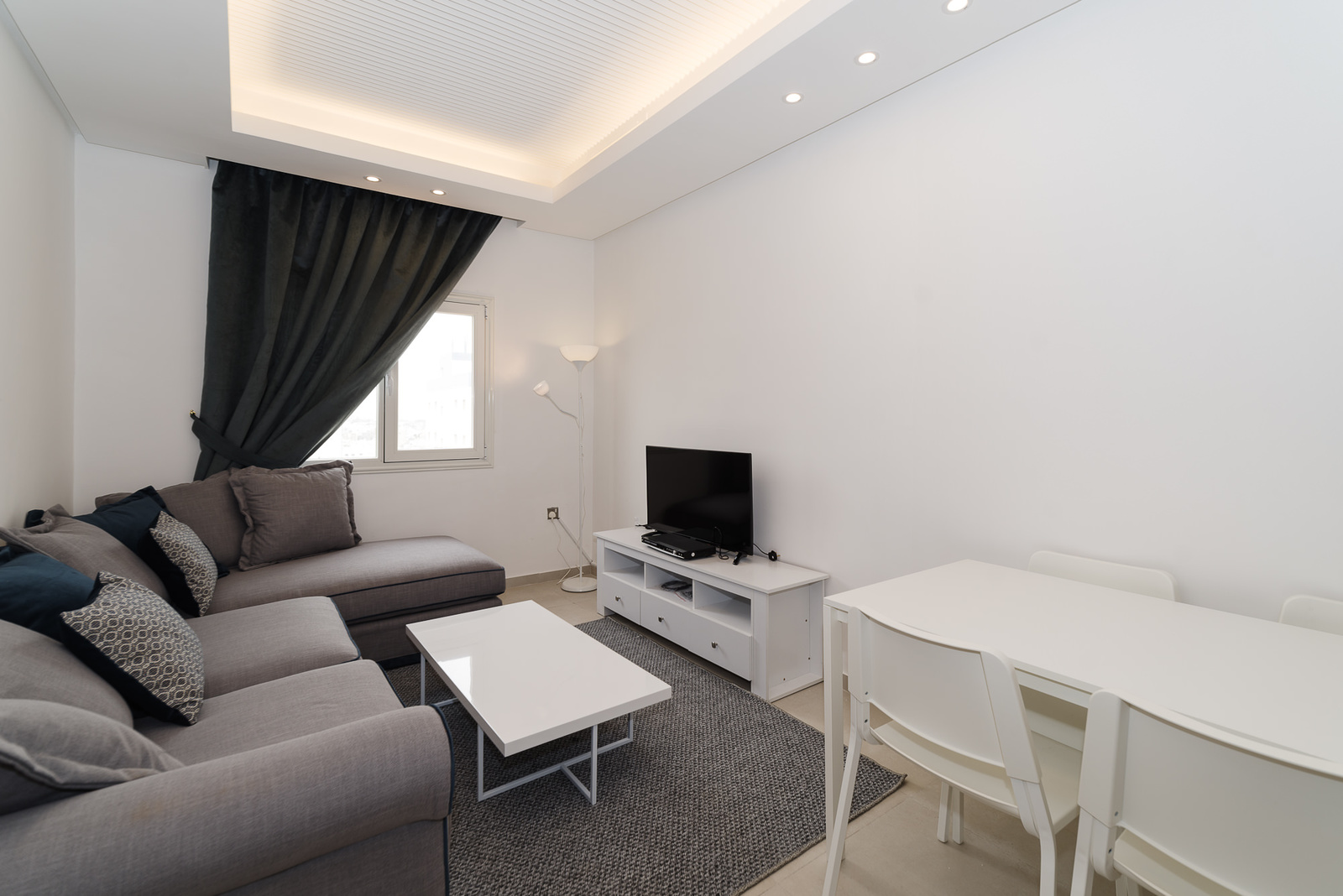 Sabah Al Salem – new, small, furnished, two bedroom apartments w/gym