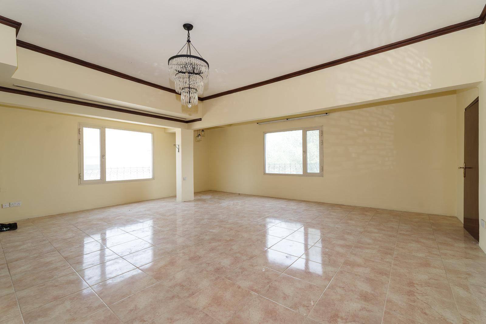 Rawda – spacious, unfurnished, two bedroom apartment