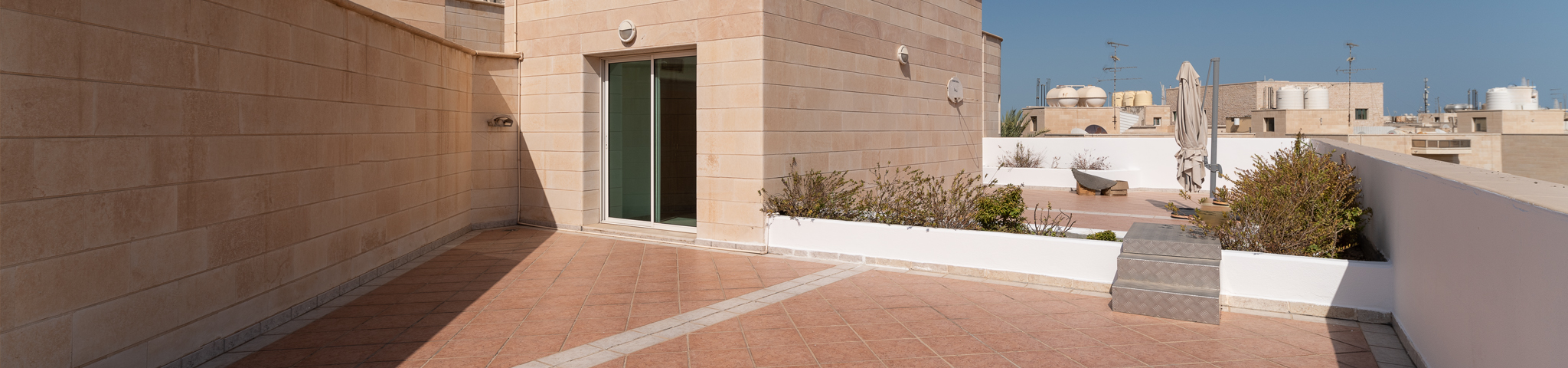 Salwa – great, unfurnished, four bedroom duplex w/private roof terrace