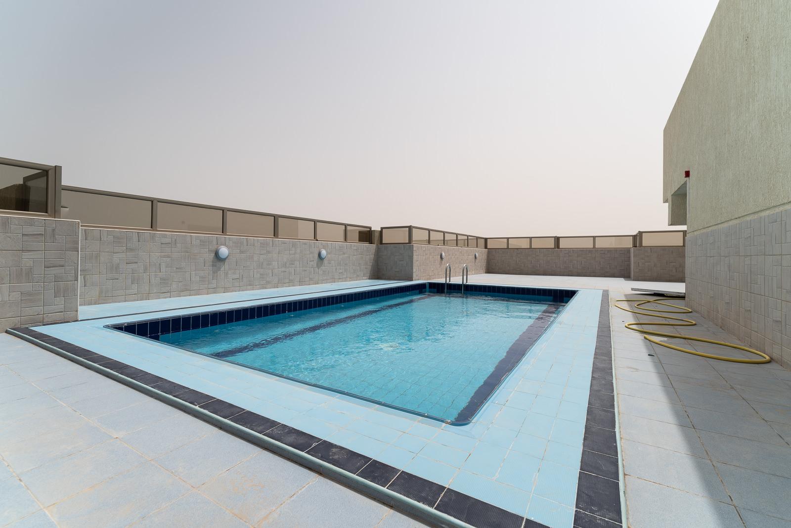 Salmiya – unfurnished, one bedroom apartments w/pool