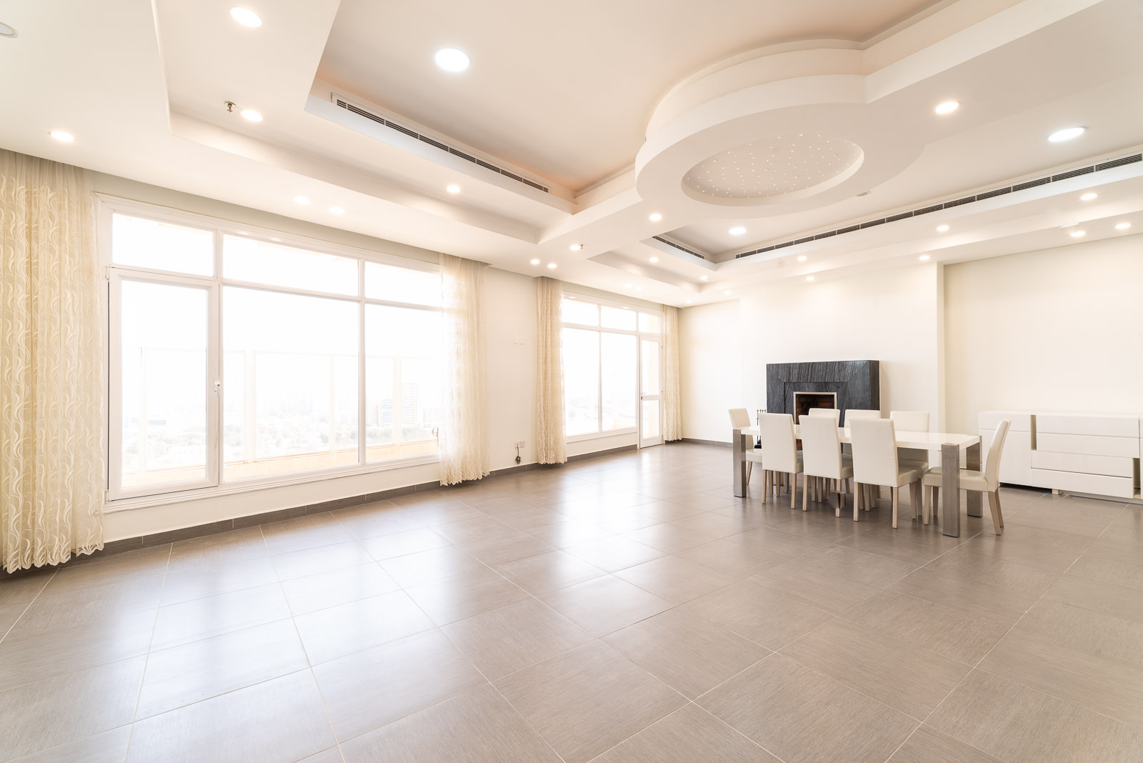 Shaab – semi furnished, three bedroom penthouse w/balcony