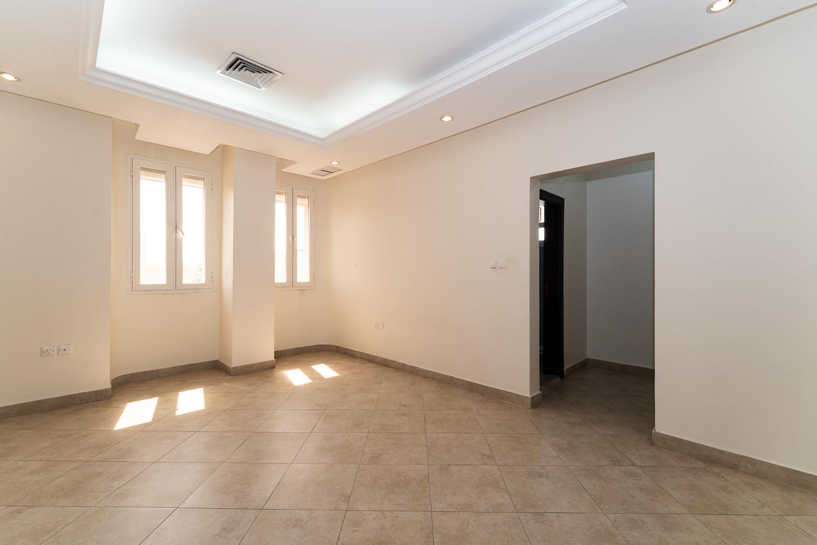 Mishref – semi furnished, three bedroom apartment