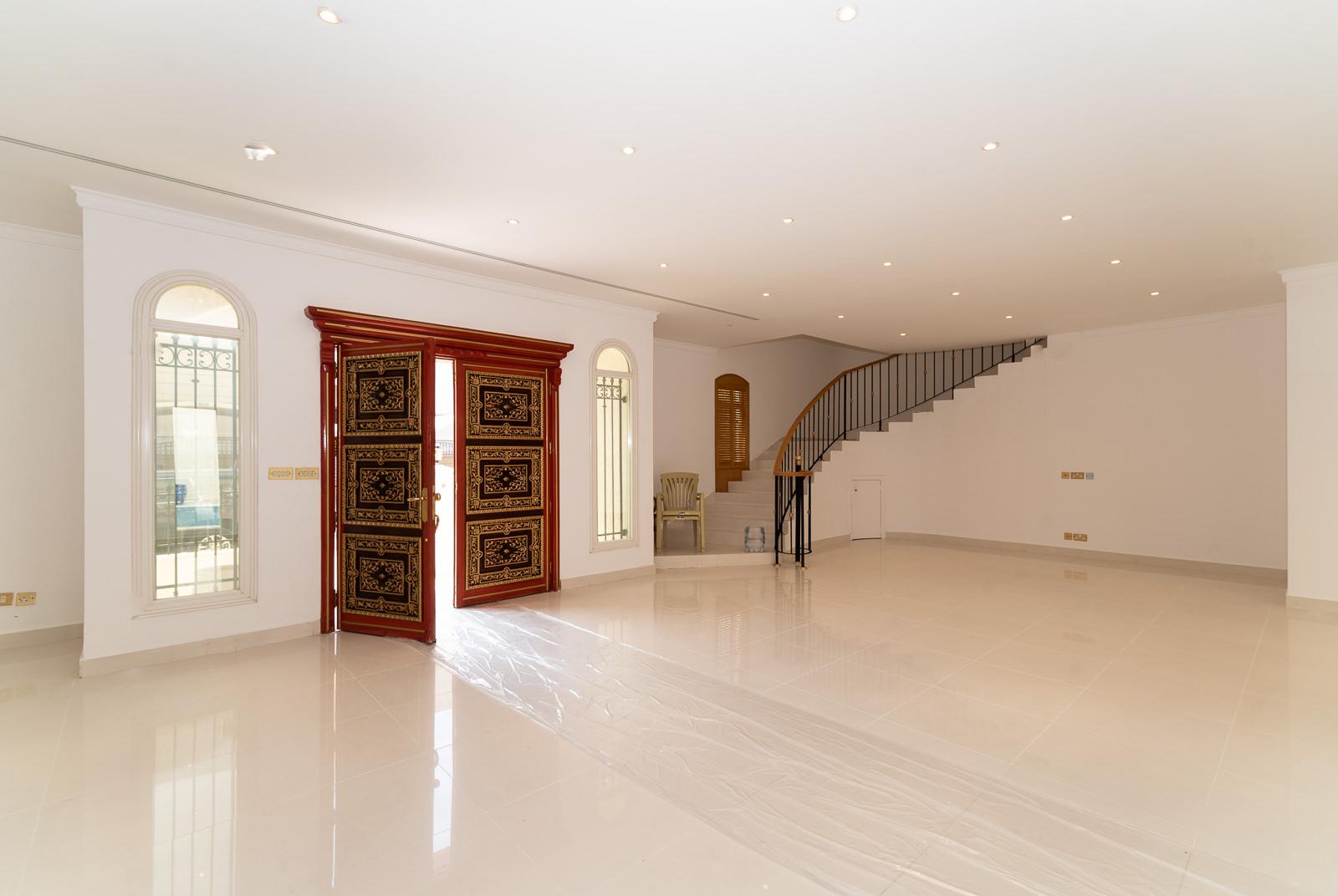 Sabah Al Salem – unfurnished, six bedroom villa w/pool