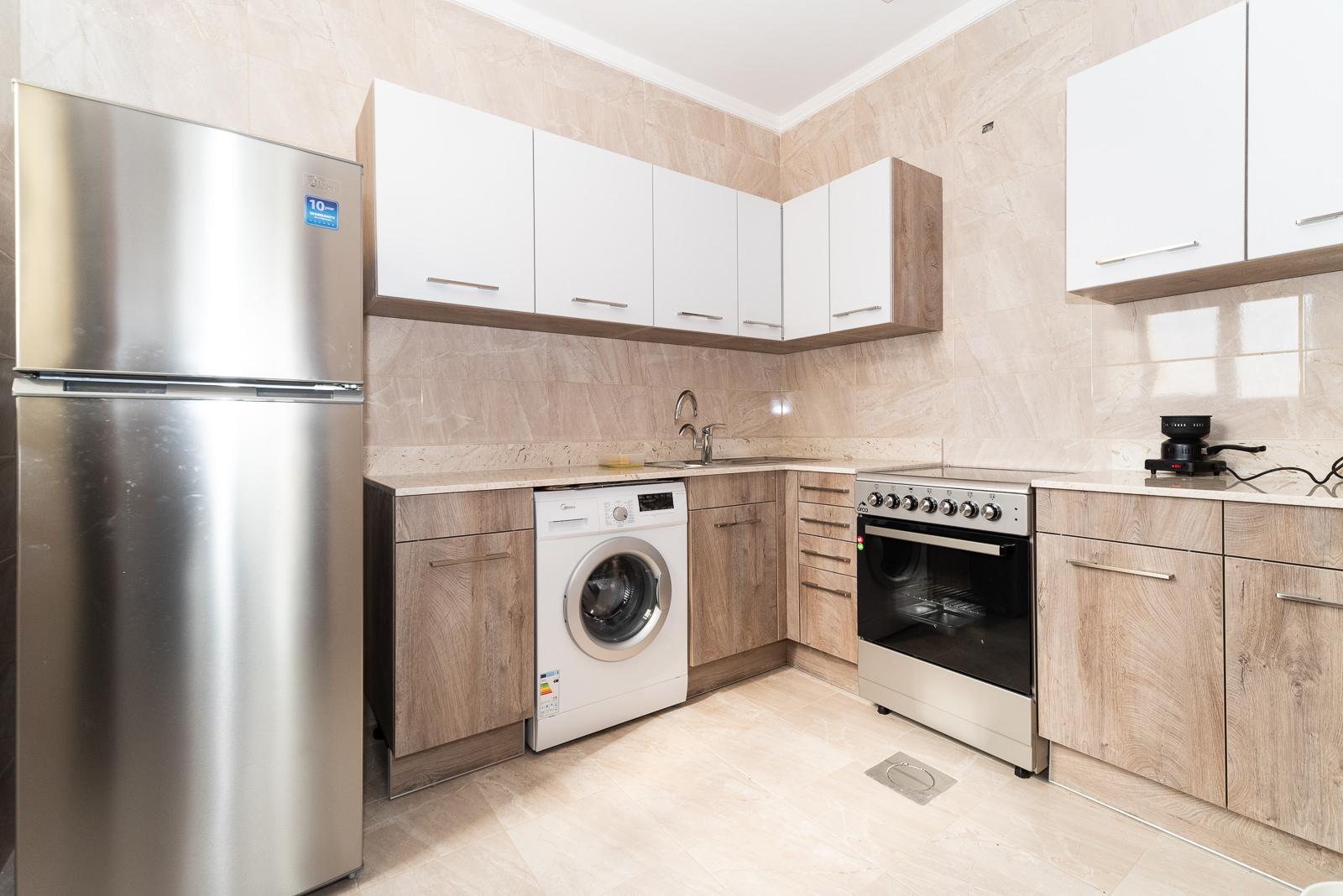 Salmiya – furnished, one bedroom apartment w/pool