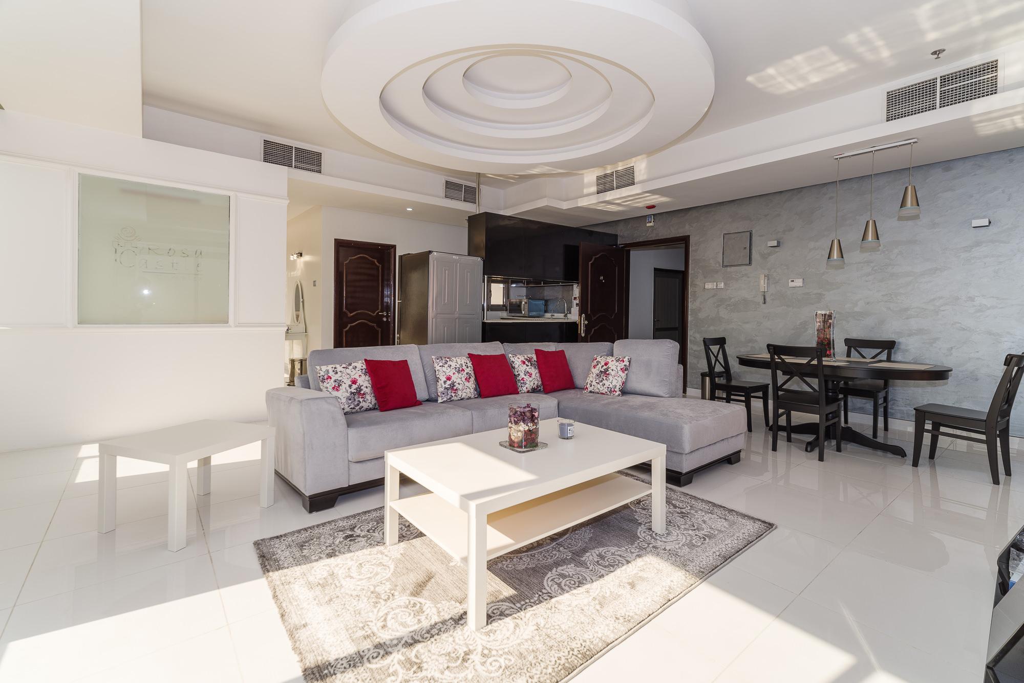 Mangaf – unusual, spacious, sea view studio w/pool