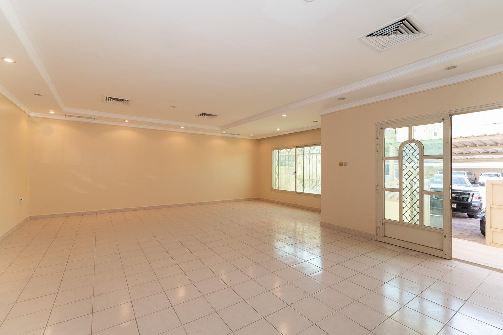 Salwa – older, spacious, three bedroom ground floor w/diwaniya