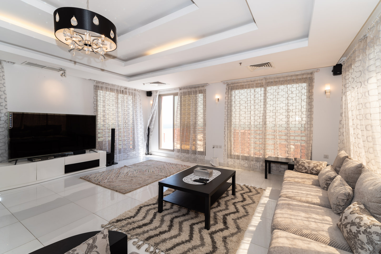 Mangaf – furnished, two bedroom penthouse w/sea view