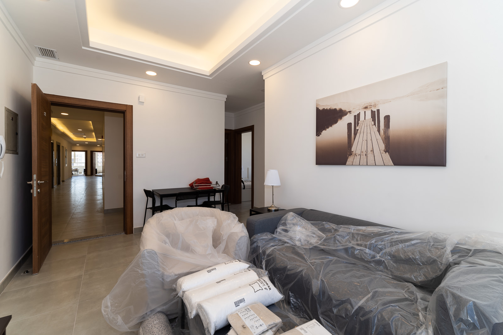 Bneid Al Gar – brand new, two bedroom apartments w/city and sea view