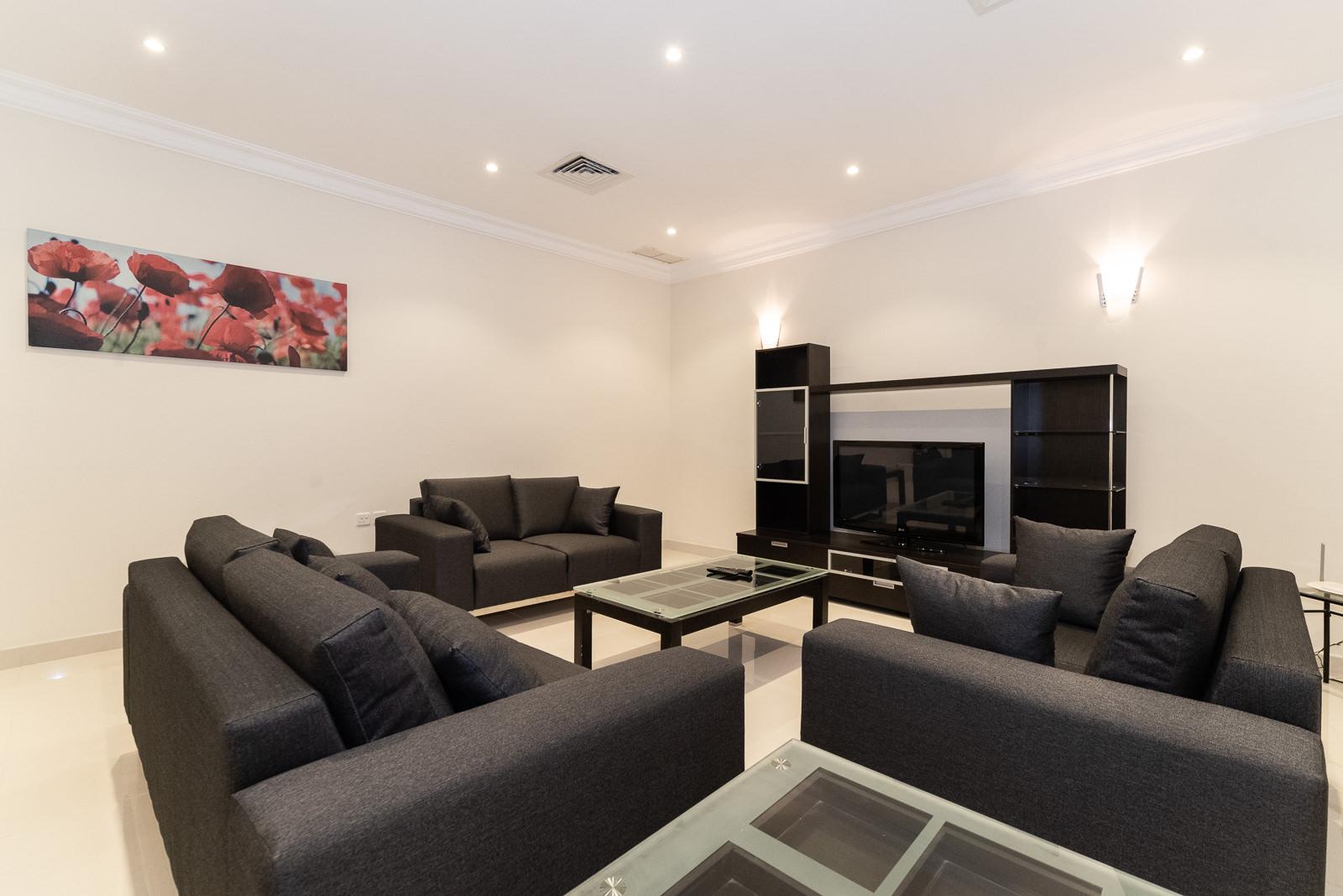 Egaila – spacious, furnished, four bedroom flat w/yard