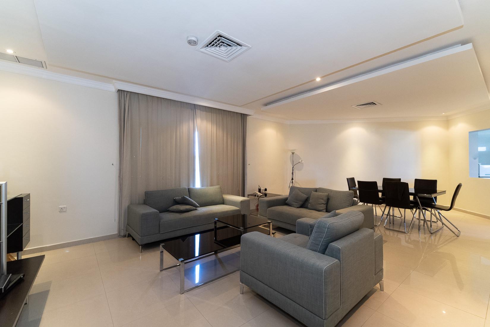 Egaila – spacious, furnished, three bedroom apartments w/pool