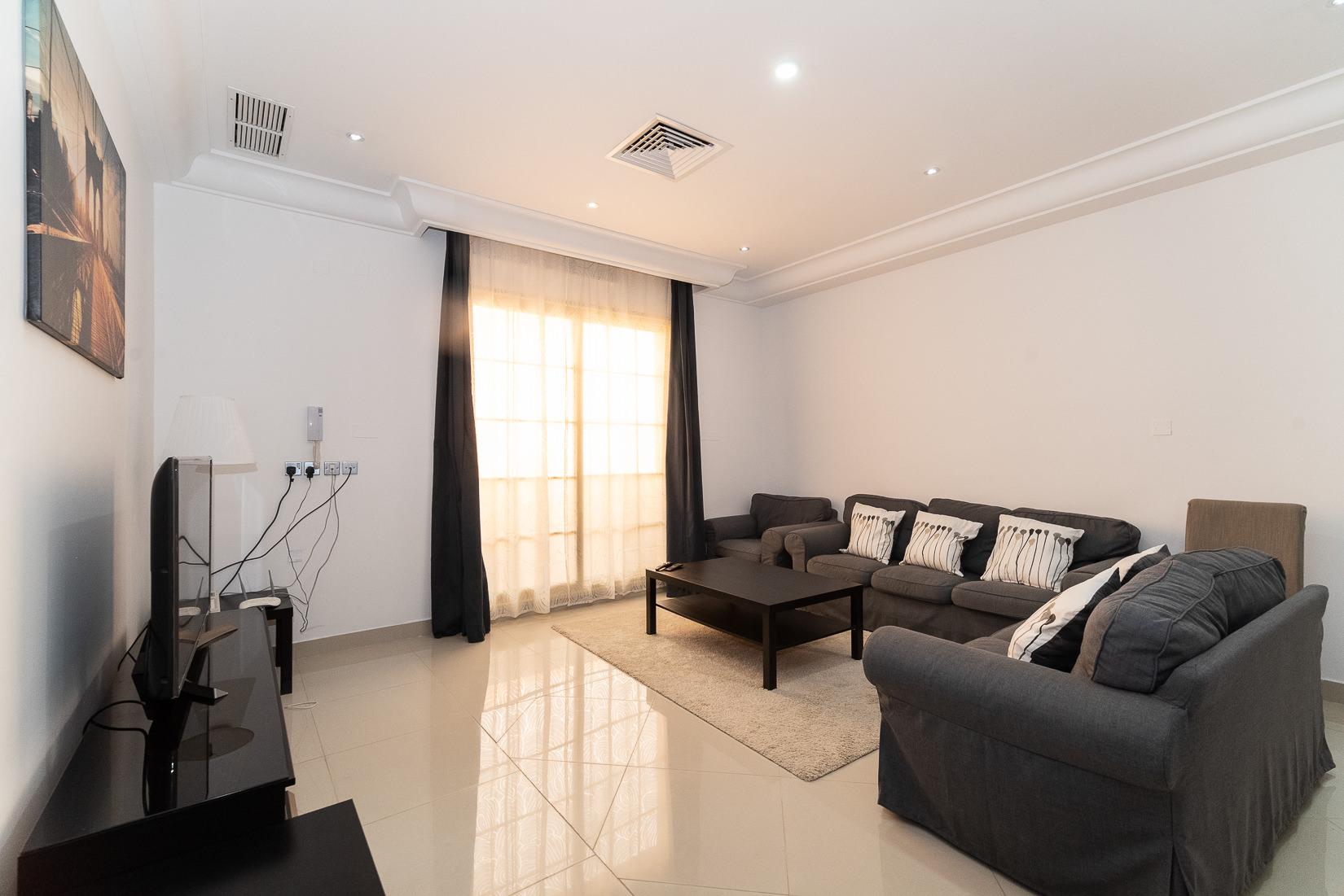Salwa – furnished, three master bedroom apartment
