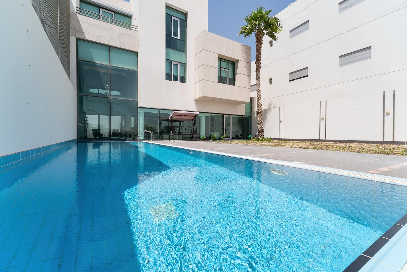 Khairan – modern, sea side five bedroom villa w/ pool
