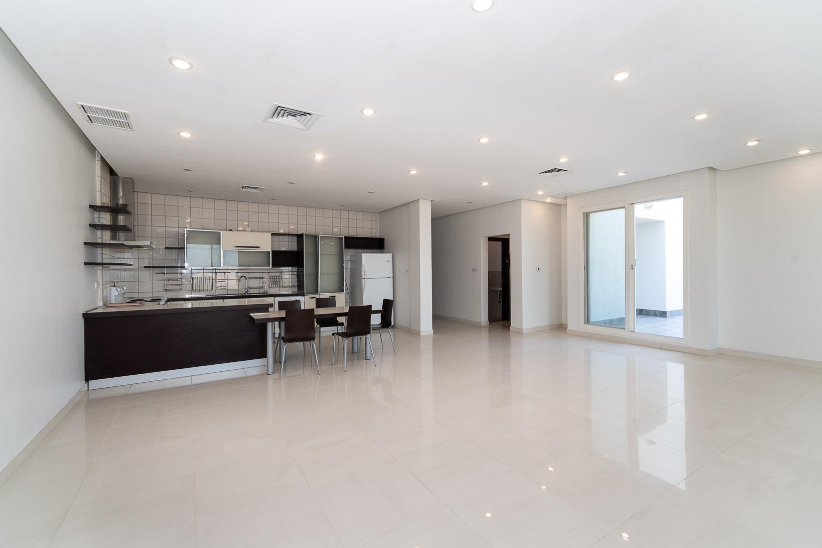 Salwa – sea view, semi furnished three bedroom apartment w/terrace