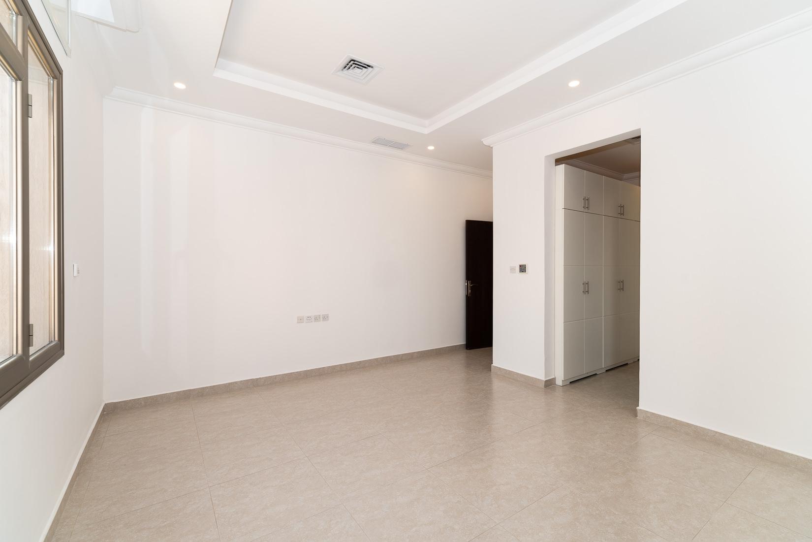 Abu Fatira – new, unfurnished ground floor w/driver room