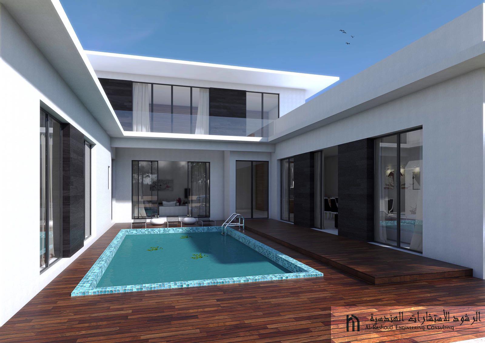 Khiran – new, ufurnished, four bedroom villa w/pool