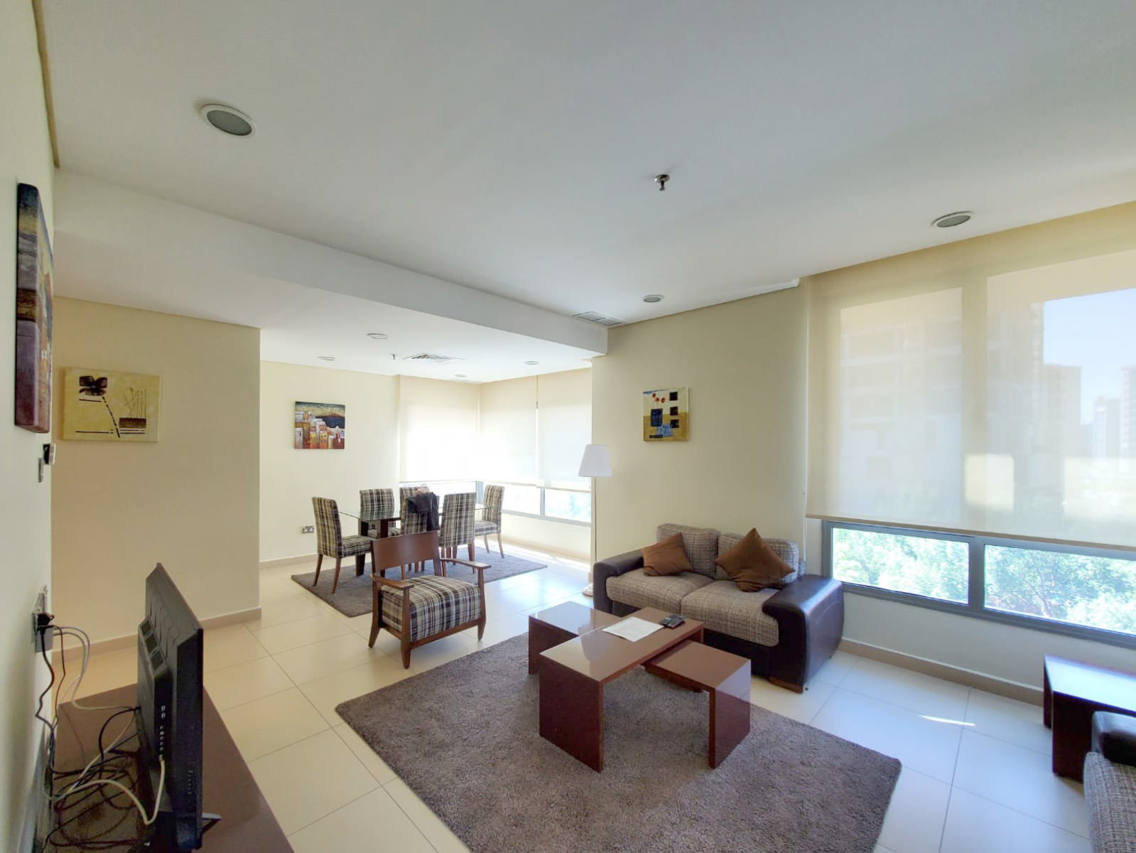 Salmiya – fully furnished two bedroom apartment w/pool
