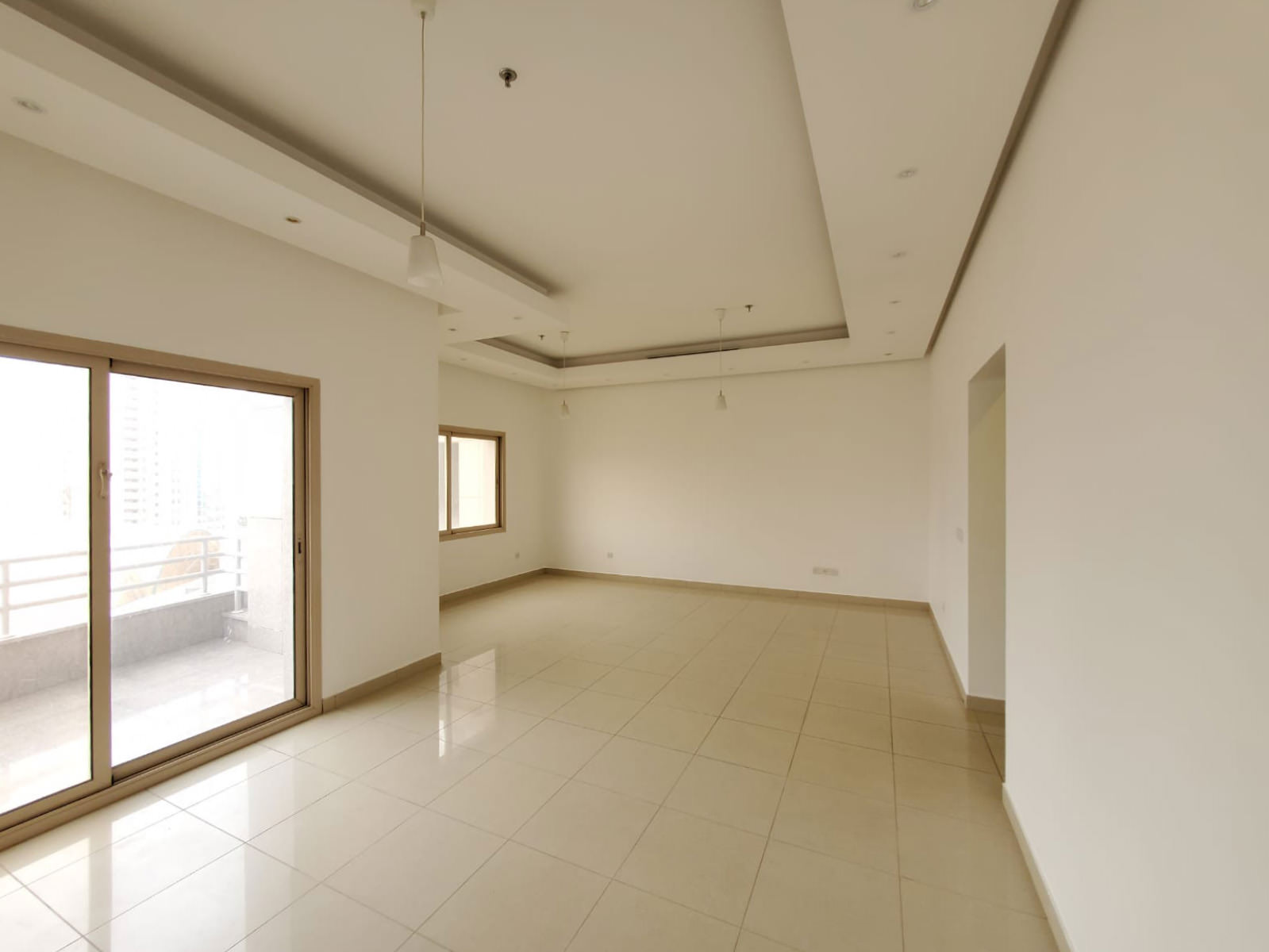 Salmiya – lovely, unfurnished two bedroom apartment w/balcony