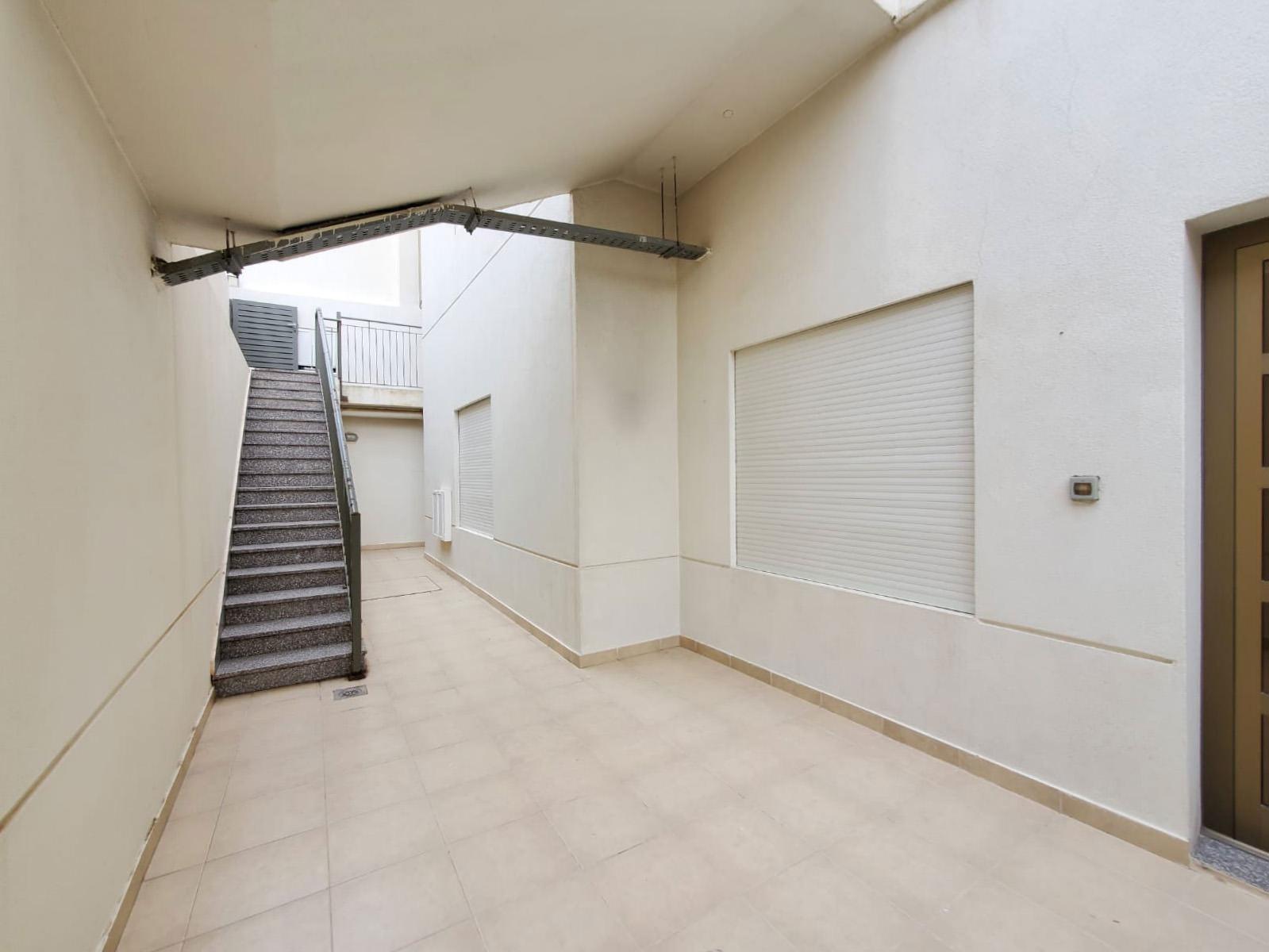 Jabriya – nice, unfurnished three bedroom basement apartment w/yard