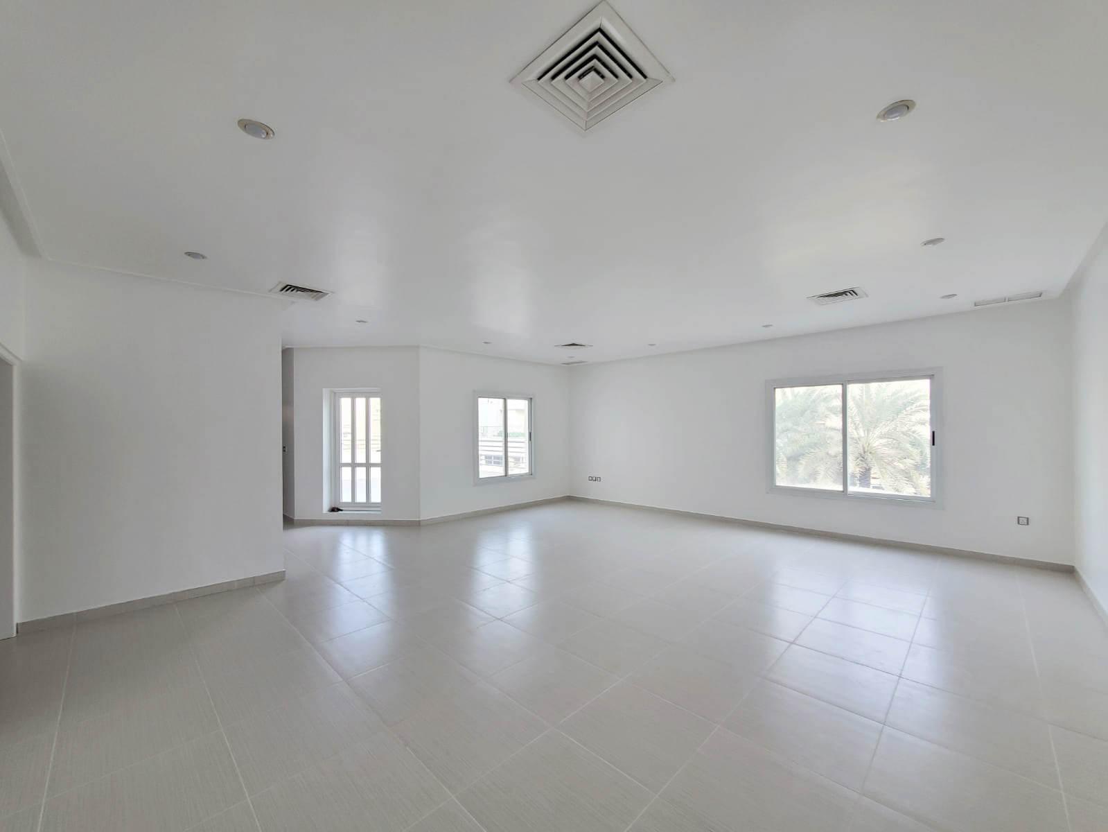 Rumaithiya – unfurnished, four bedroom floor w/terraces