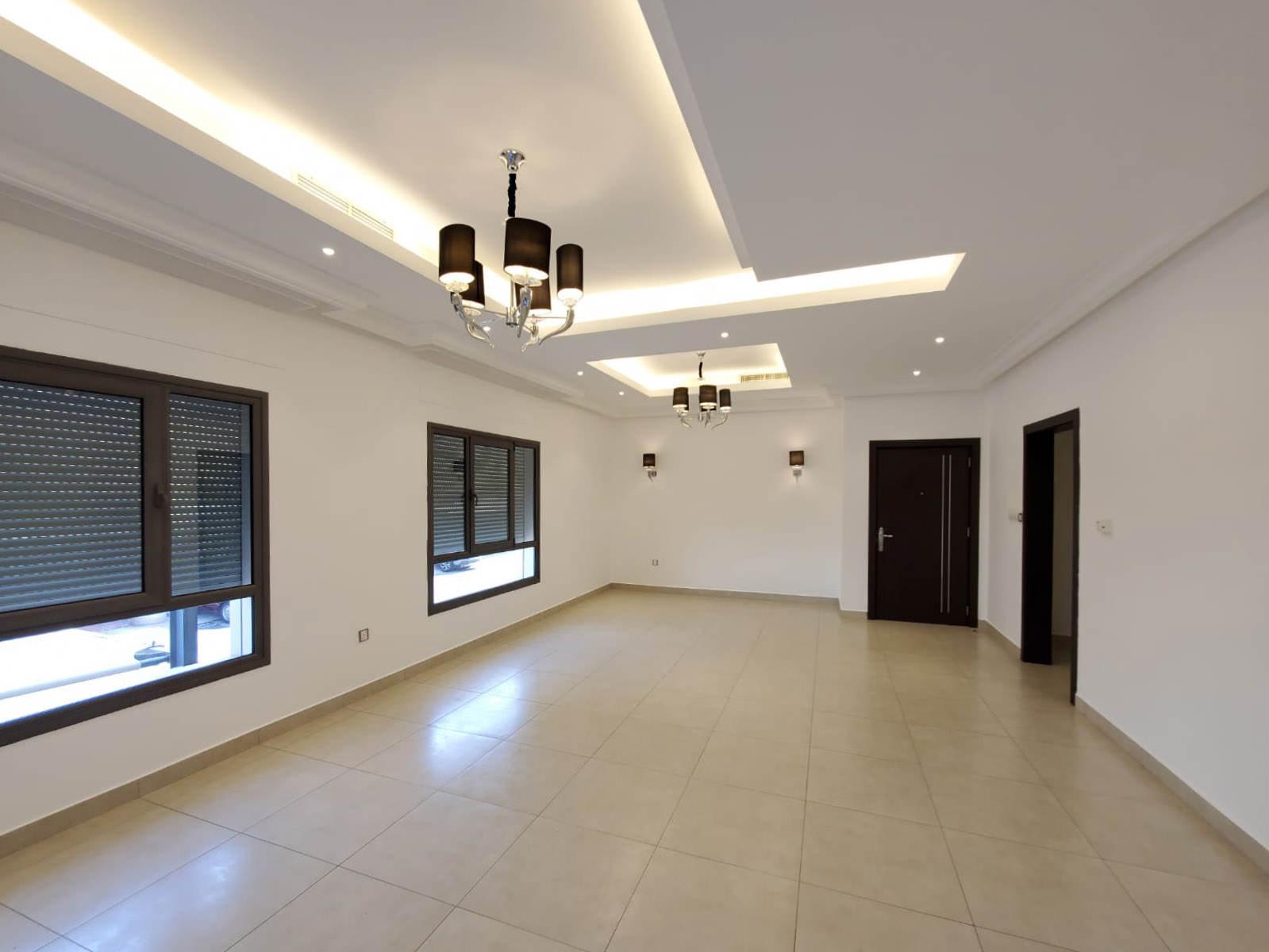 Jabriya – unfurnished, four bedroom ground floor w/yard