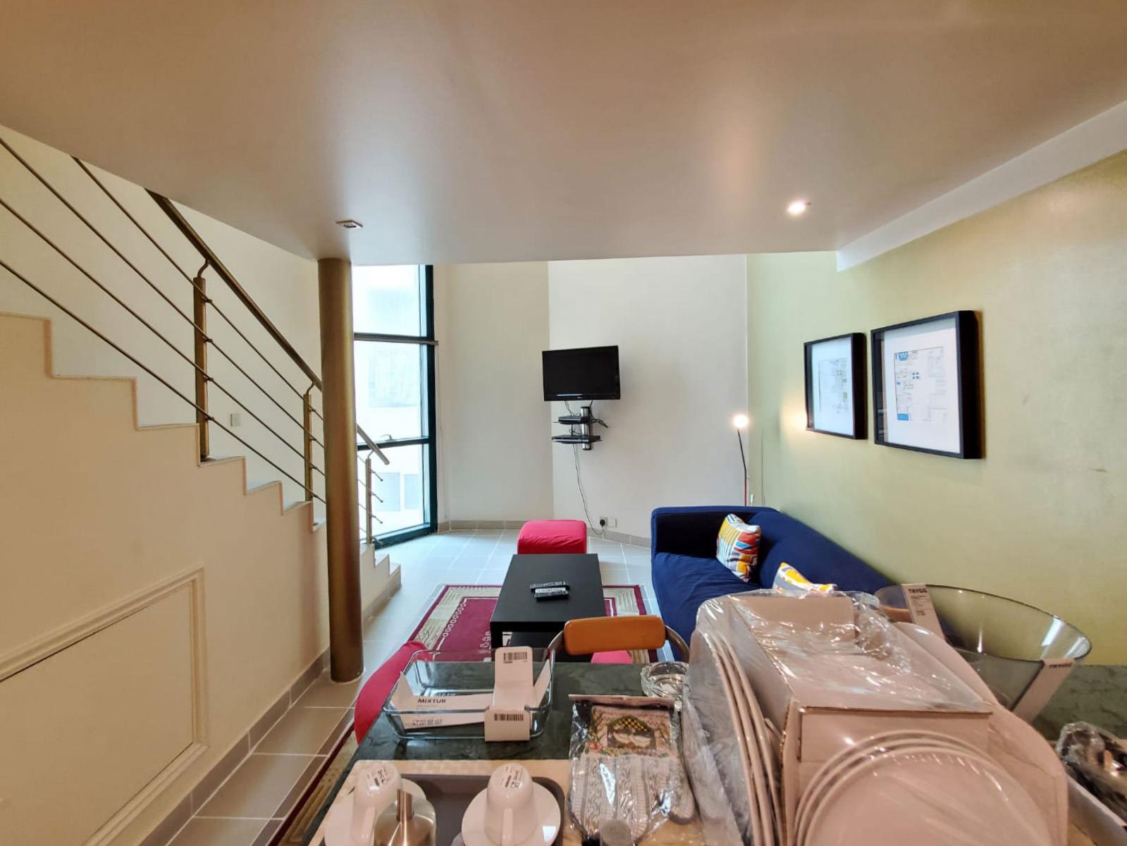 Salmiya – furnished, 1 bedroom duplex apartments