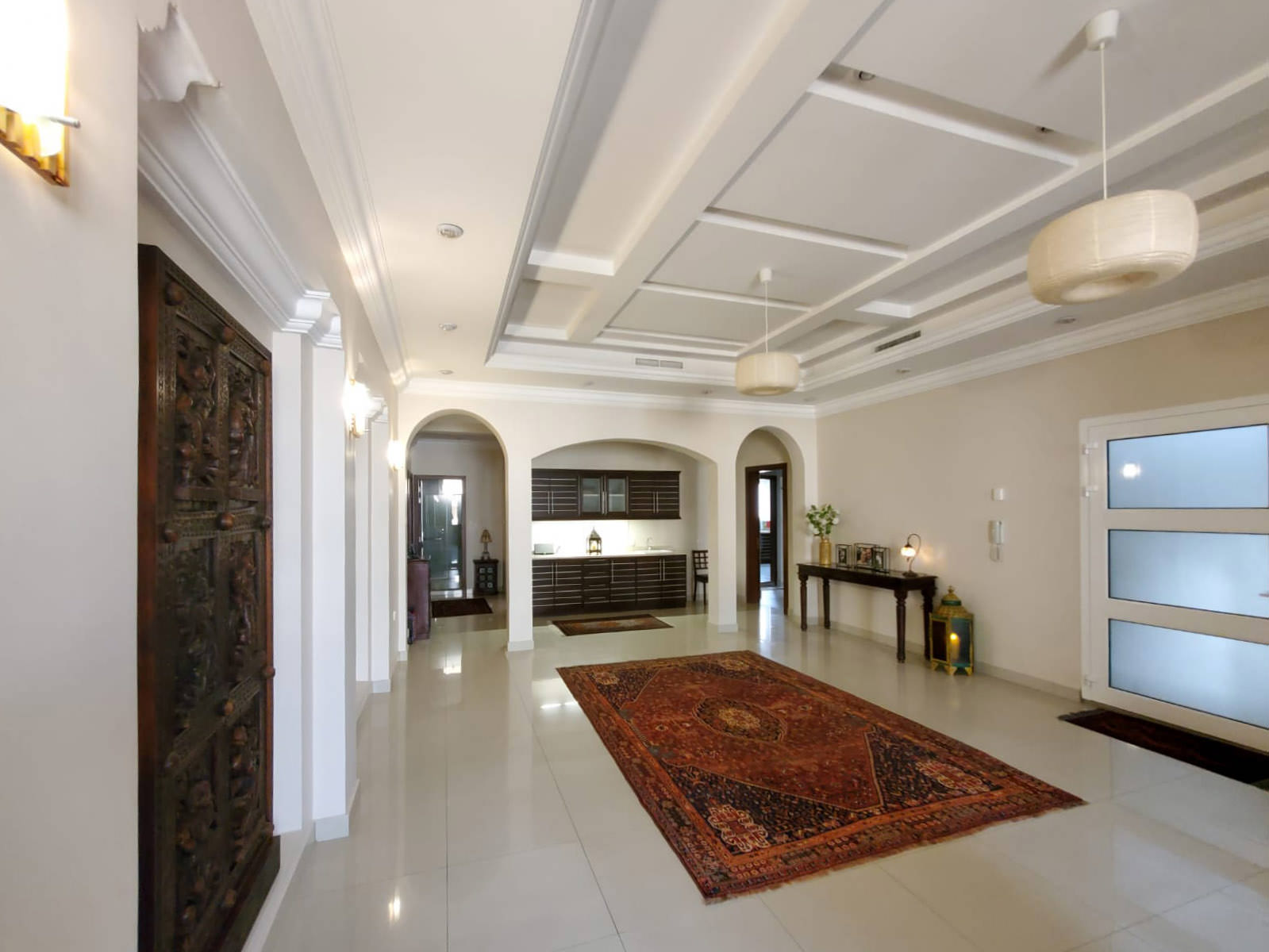 Zahra – great, ufurnished four bedroom floor w/balconies